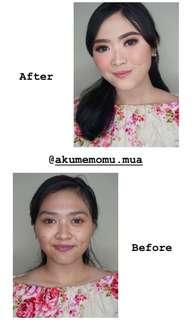 Make up wisuda lamaran prewedding party jogja,