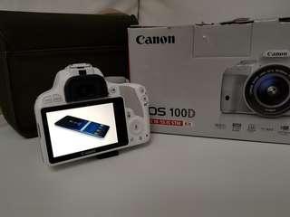 DSLR Canon EOS 100D Bundle Kit