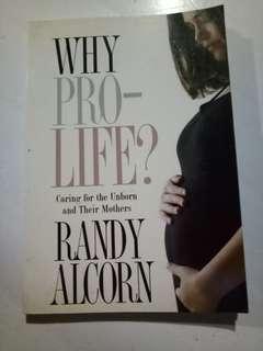 Why Pro Life