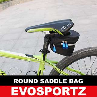 Round Saddle Bag for Bicycle