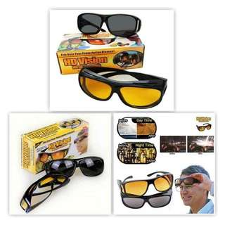 HD Vision UV protection And night Glasses