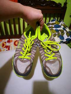 FILA Neon Green Rubber Shoes