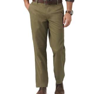 🚚 Dockers D2 straight fit formal pants/jeans -size 33-green