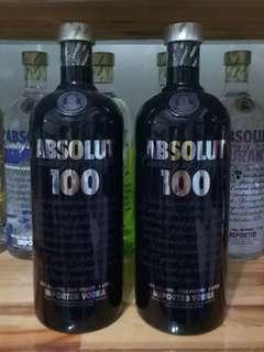 ABSOLUT 100 1Ltr