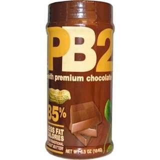 🚚 PB2粉狀花生醬,巧克力花生醬,6.5 盎司(184 克)