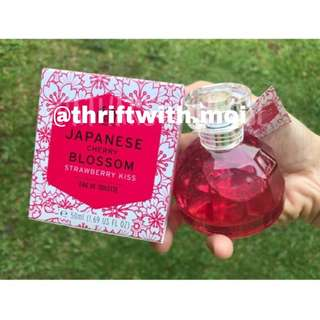 The Body Shop EDT Japanese Cherry Blossom x Strawberry Kiss original SALE