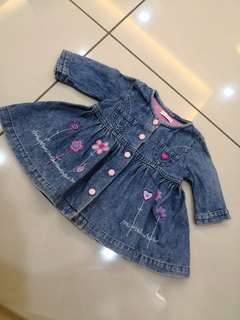 Coco Baby Dress (0-3m)