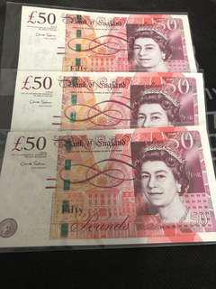 United Kingdom $150 run