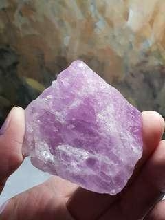 Raw Kunzite [Natural Crystal]
