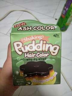 Ash color hair dye