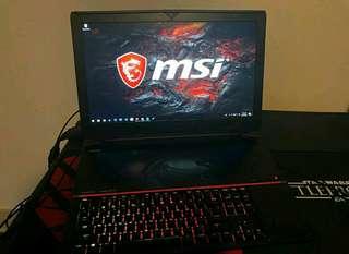 MSI Titan i7 win10 1tbSSD+1tbHDD 64gbRAM Gaming Laptop