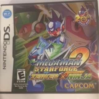 Megaman Starforce 2: Zerker X Ninja