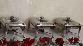 Buffet tray & Water dispenser For Rental All Occasions Event