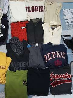 Jaket all item lima puluh ribu