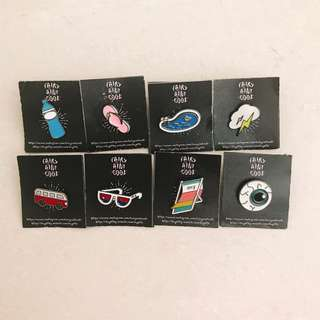 summer theme sport enamel pin