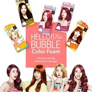 🚚 MISE EN SCENE Hello Bubble Foam Colour