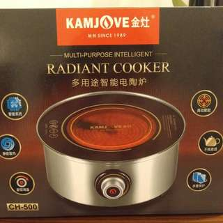 NEW Radiant Cooker Multi-purpose Intelligent 全新 多用途電陶爐