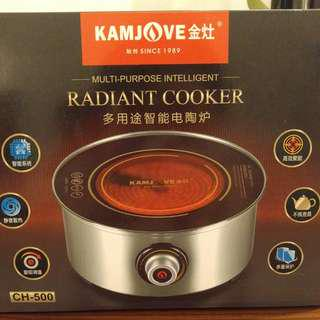 NEW Radiant Cooker Multi-purpose Intelligent 全新 多用途電陶爐