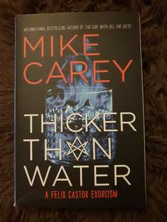 Thicker Than Water (A Felix Castor Exorcism)