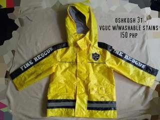 Oshkosh Raincoat 3T
