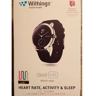Withings Steel HR 40mm 智能手錶