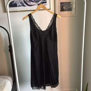 Vintage black night dress