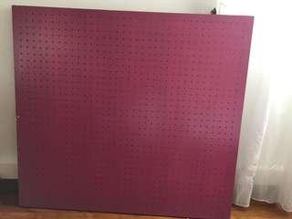 🚚 Peg board 100 x 110cm