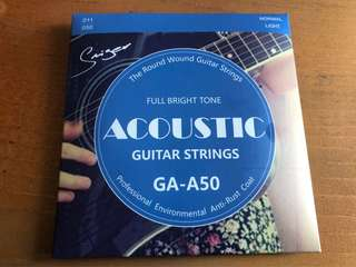 🚚 Acoustic Guitar Strings