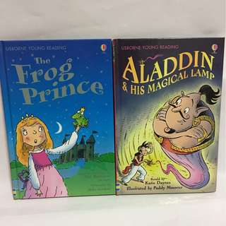 The Frog Prince & Aladdin And His Magical Lamp Storybook