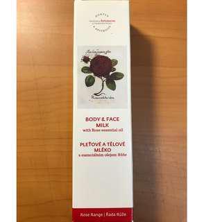 菠丹妮 玫瑰臉部活膚乳 Rose Body & Face Milk 50g