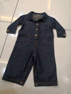 HHC Denim Mechanic Jumpsuit (2t)