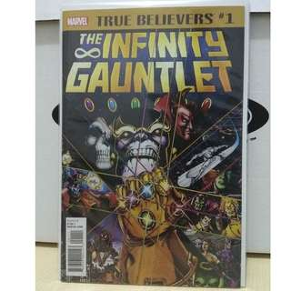 🚚 Infinity Gauntlet #1 - True Believers