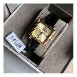 英國潮牌 Vivienne Westwood Watch 真皮錶帶 土星 女士 手錶 腕錶 30mm (WT01)