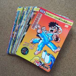Street fighter 2 turbo normal cards set