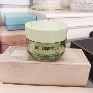 Club Clio Goodal • green tangerine moist cream • moisturizer big sale • with box • almost new