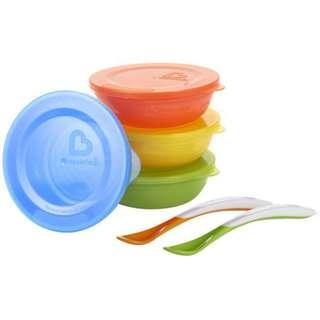 BNIB Munchkin Love a Bowls 10 pieces