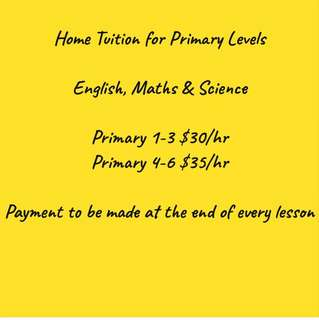 Home Tuition by Special Education Teacher