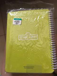 Note book (Cookie Monster Sesame Street)USs