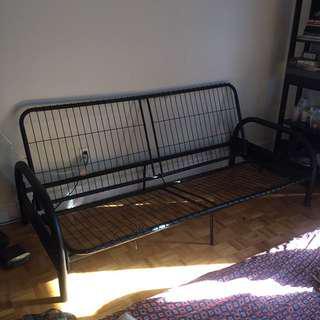 Futon Sofa Frame (mattress free if you want)