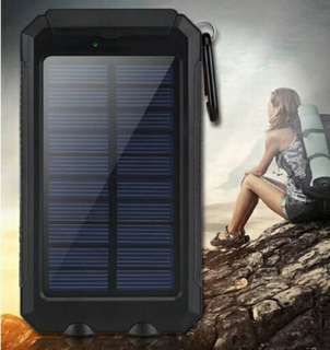 Compass Waterproof Solar Power Bank 20000 mAh