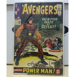 🚚 Avengers Vol. 1 #21 - 1st appearance of the Power Man