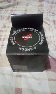 Original brand new G-shock glossy red 3500 only need to cash