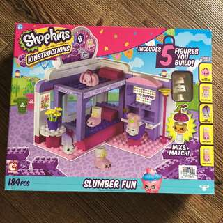 Shopkins Kinstructions Slumber Fun