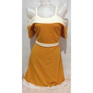 dress cold shoulder