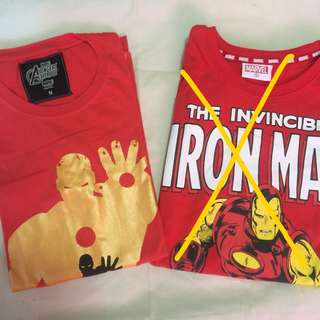 Two Iron Man Shirts Bundle ✨