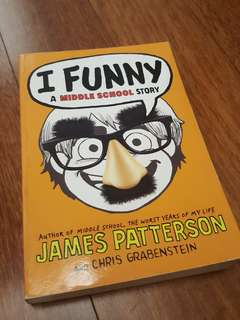 I Funny - A Middle School Story by James Patterson