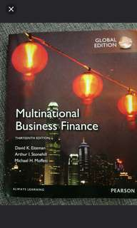 brand new multinational international finance 13th edition