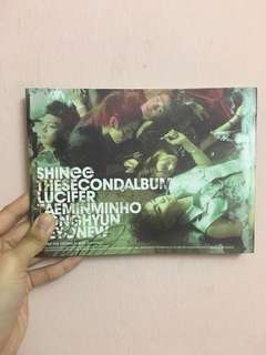 SHINEE Lucifer (2nd Album)