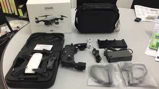 DJI Spark Fly More Combo 100% Like New