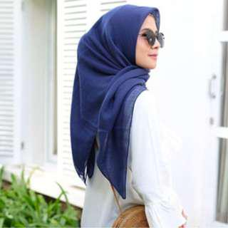 Jilbab Voal Plain | Cotton Voal | Katun Voal | Voal Hijab